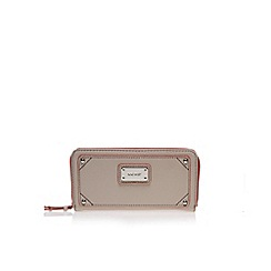 Nine West - Brown treasure zip wallet