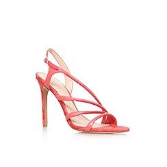 Vince Camuto - Peach 'Tiernan' high heel sandal