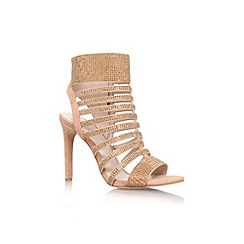 Vince Camuto - Tan 'Katal' high heel strappy shoe boot