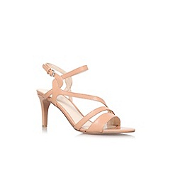 Nine West - Nude 'Jarring' mid heeled sandal
