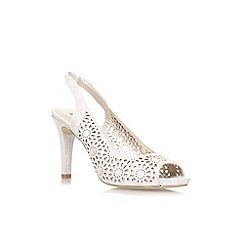 Anne Klein - Gold 'Odea2' high heel court shoe