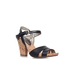 Anne Klein - Black 'Boycot'  Wedge Sandal