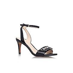 Nine West - Black 'Jenetter' mid heel sandal