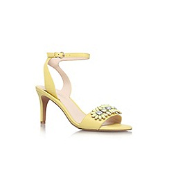 Nine West - Yellow 'Jenetter' mid heel sandal
