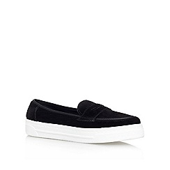 Miss KG - Black 'LIONEL' Flat slip on