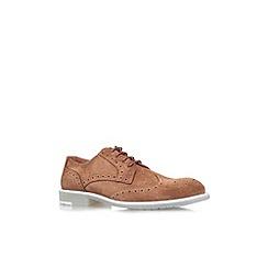KG Kurt Geiger - Brown 'Redmile' flat lace up formal shoe