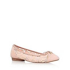 KG Kurt Geiger - Natural 'Latin' low heel pumps