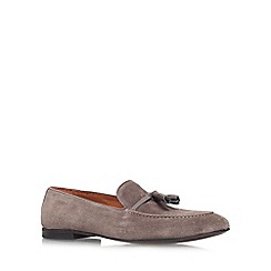 KG Kurt Geiger - Grey 'Landon' flat slip on loafer