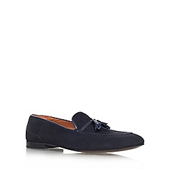 KG Kurt Geiger - Navy 'Landon' flat slip on loafer