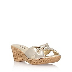 Carvela Comfort - Gold 'Skylar' high heel sandal