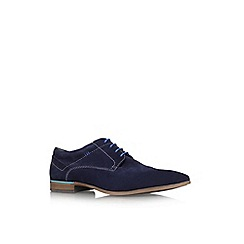 KG Kurt Geiger - Blue 'Glen' lace up formal shoe