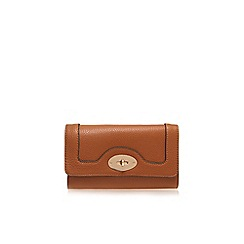 Carvela - Tan 'Felix' lock wallet