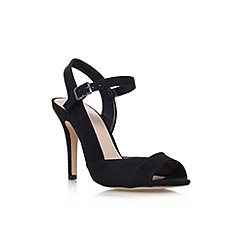 Carvela - Black 'Lou1' high heel sandal
