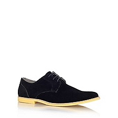 KG Kurt Geiger - Black 'Holmesdale' flat lace up formal shoe