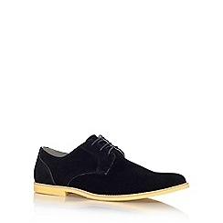 KG Kurt Geiger - Black 'Holmesdale' flat lace up formal shoe