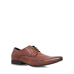 KG Kurt Geiger - Tan 'Pemberton' flat lace up formal shoe