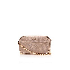 Carvela - Black 'Eris x body bag' clutch bag