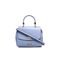 Carvela - Blue 'Elga' lock handbag