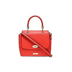 Carvela - Peach 'Elga' lock handbag