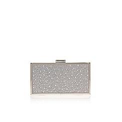 Carvela - Silver 'Grint' clutch bag