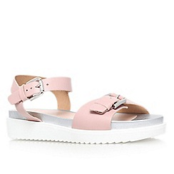 Carvela - Nude 'Krumble' flat sandal