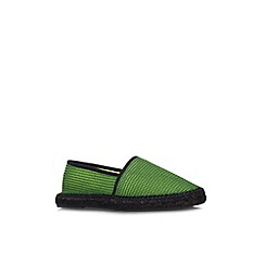 KG Kurt Geiger - Green 'Whitby' flat slip on casual shoe