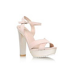 Carvela - Nude 'Gone' high heel platform sandals
