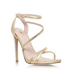 Carvela - Gold 'Georgia' high heel sandals