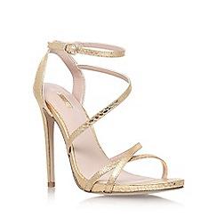 Carvela - Gold 'Georgia' high heel sandals
