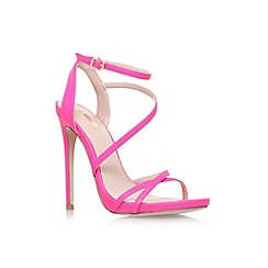 Carvela - Pink 'Georgia' high heel strappy sandal