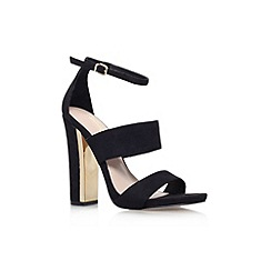 Carvela - Black 'Gossip' high heel strappy sandal