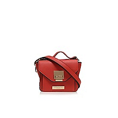Carvela - Peach 'Fran' lock handle handbag