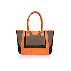 Carvela - Orange 'Freya perspex' large bag
