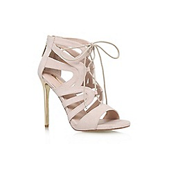 Carvela - Natural 'Game' high heel lace up sandal