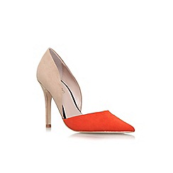 Miss KG - Brown 'Shannon' high heel court shoes