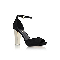 Miss KG - Black 'Iona' high heel ankle strap sandal