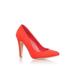Miss KG - Red 'Sarah' high heel court shoe