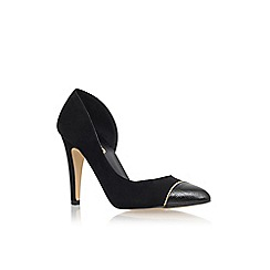 Miss KG - Black 'Sophie' high heel court shoes