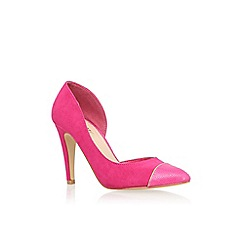 Miss KG - Pink 'Sophie' high heel court shoes