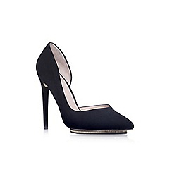KG Kurt Geiger - Black 'Envy' high heel court shoe