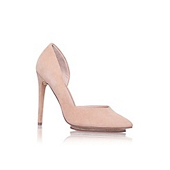 KG Kurt Geiger - Nude 'Envy' high heel court shoe