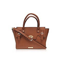 Carvela - Tan 'Ethel' buckle lock bag