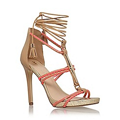 Miss KG - Multi 'Geranium' high heel strappy sandal