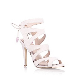 Miss KG - Nude 'Frenchy' high heel strappy sandal
