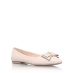 Miss KG - Nude 'Nessy' flat slip on pointed toe pump