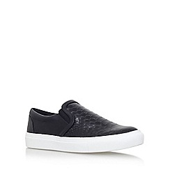 KG Kurt Geiger - Black 'Londres' flat slip on sneaker
