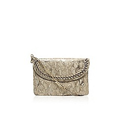 Nine West - Gold 'Offthechain' clutch bag