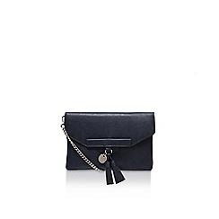 Nine West - Blue 'Offthechain clutch' medium handbag with shoulder chain