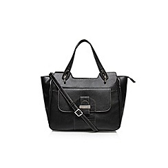 Nine West - Black 'Up for keeps' satchel handbag