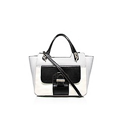 Nine West - Black/ grey 'Up for keeps' satchel handbag